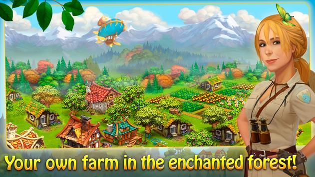 Charm Farm: Dorpspellen. Magisch Bosavontuur.-poster