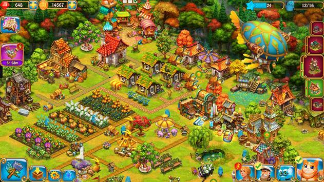 Charm Farm: Dorpspellen. Magisch Bosavontuur. screenshot 20
