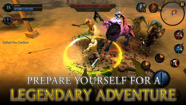 Arcane Quest Legends تصوير الشاشة 5