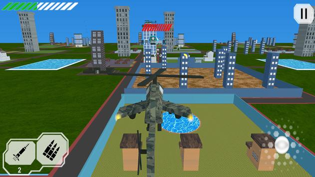 HELICOPTER ATTACK IN CITY screenshot 1