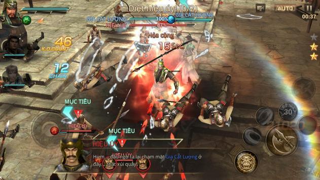 Dynasty Warriors: Unleashed ảnh chụp màn hình 13