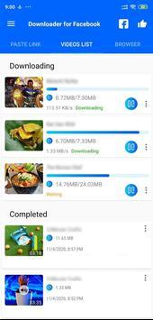 Video Downloader for Facebook screenshot 10