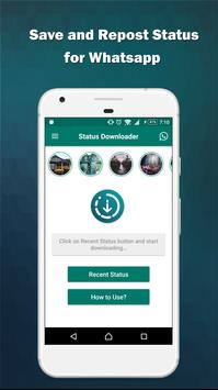 Status Saver - Downloader for WhatsApp poster