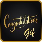 Congratulations GIF & Status icon