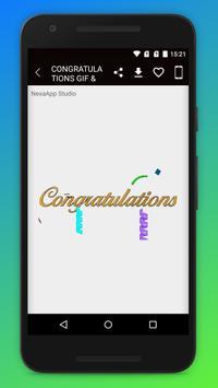Congratulations GIF & Status screenshot 6