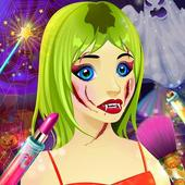 Halloween Dress up & Makeover - Color by Number icon