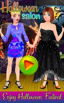 Halloween Dress up & Makeover - Color by Number poster