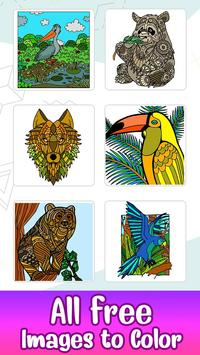 Animals Paint by Number - Stress Relieving Designs poster