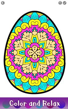 Easter Eggs Color by Number - Adult Coloring Book screenshot 1