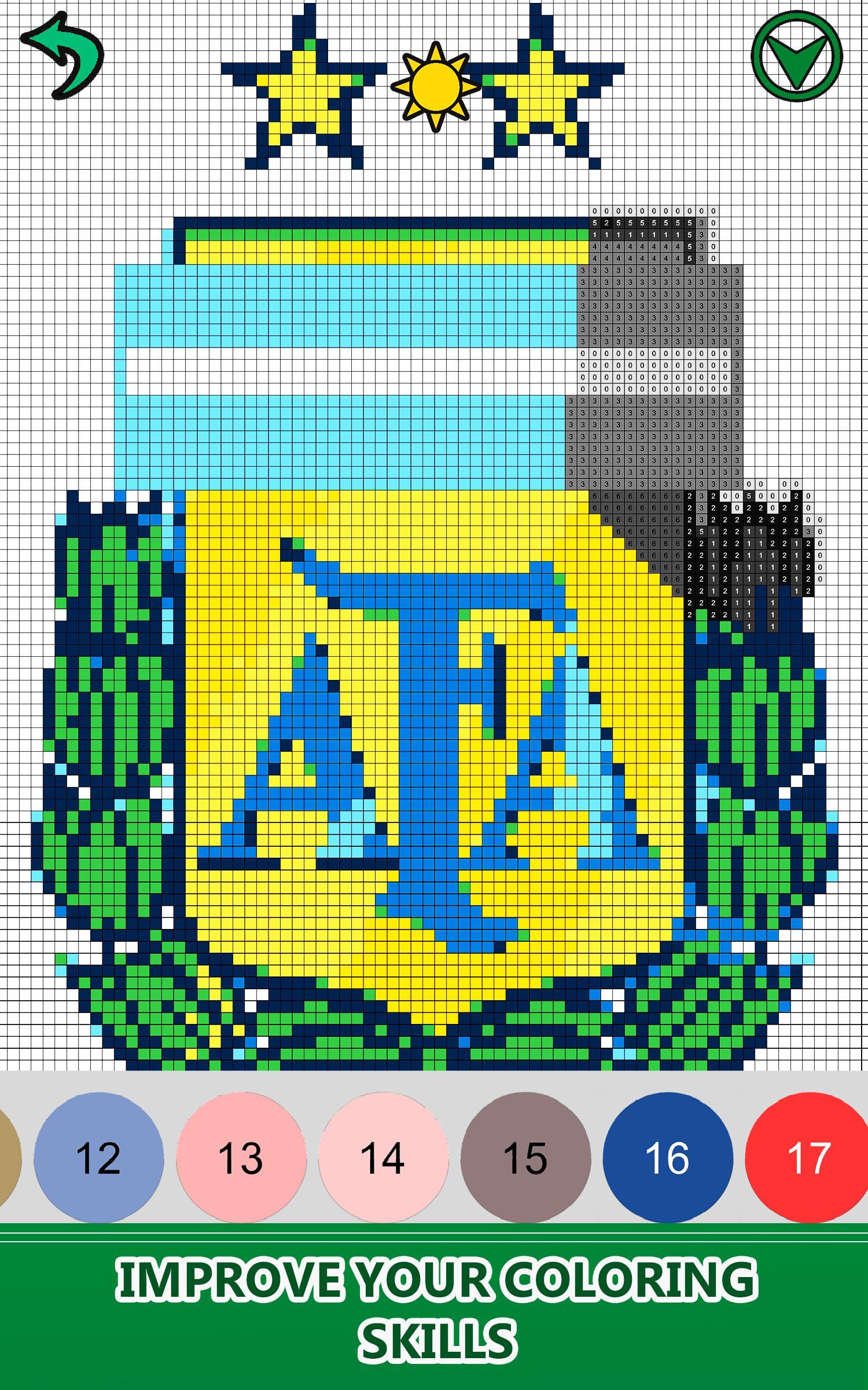 Football Logo Color By Number Pixel Art Nocolor для