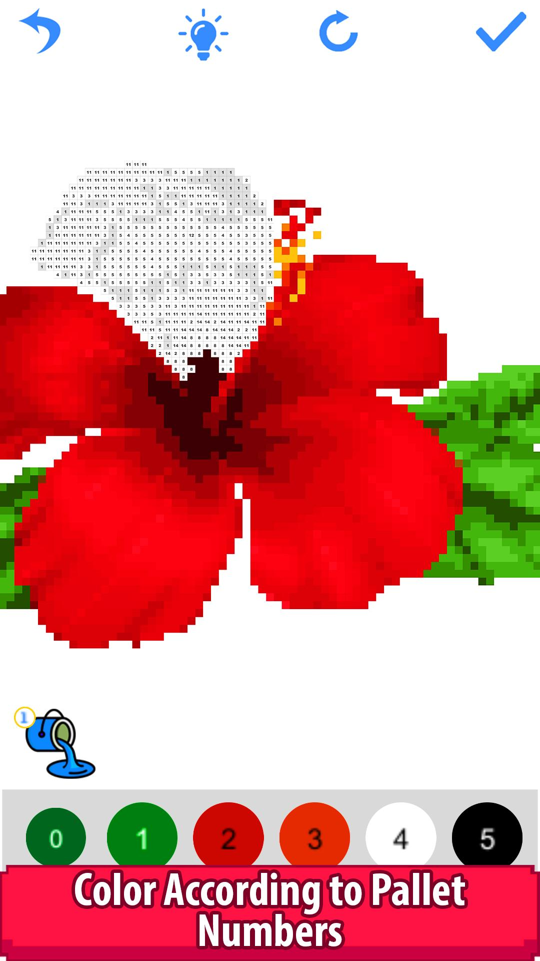 Flowers Color by NumberPixel Art,Sandbox Coloring for Android ...