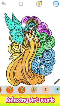 Tattoo Paint by Number - Drawing, Glitter + Color capture d'écran 2