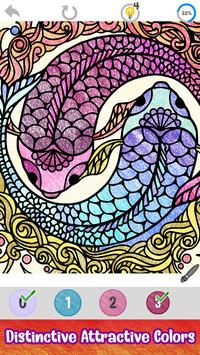 Tattoo Paint by Number - Drawing, Glitter + Color capture d'écran 3