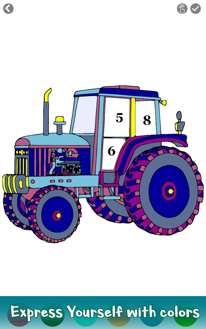 Print Out This Kubota B1820 Tractor Coloring Picture!