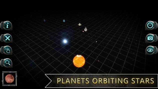 Universe Space Simulator : Merge Gravity Orbits 3D تصوير الشاشة 2