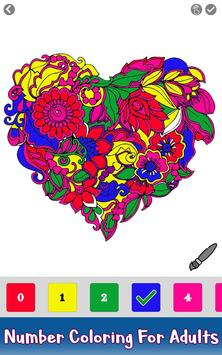 Valentine Color by Number - Paint by Numbers Pages screenshot 2