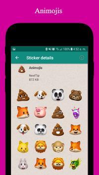 iStickMoji - WAStickerApps, Sticker, Animoji, Meme screenshot 3