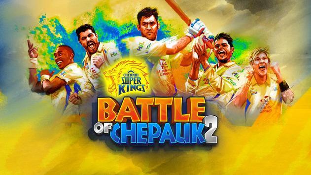 Chennai Super Kings Battle Of Chepauk 2 Poster