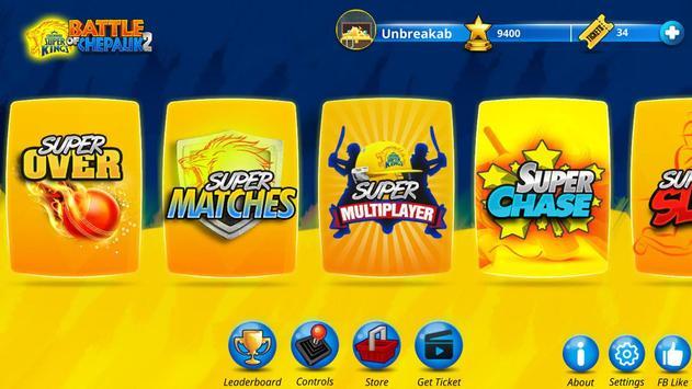 Chennai Super Kings Battle Of Chepauk 2 captura de pantalla 1