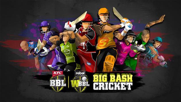 Big Bash Cricket poster