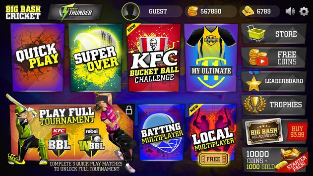 Big Bash Cricket 截圖 1