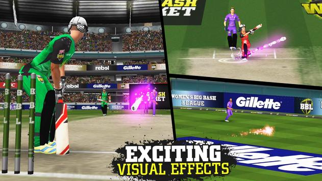 Big Bash Cricket 截圖 2
