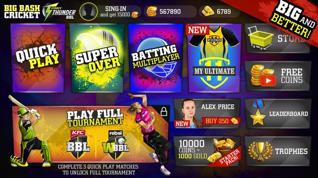 Big Bash Cricket 截圖 9