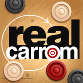 Real Carrom 3D : Multiplayer आइकन