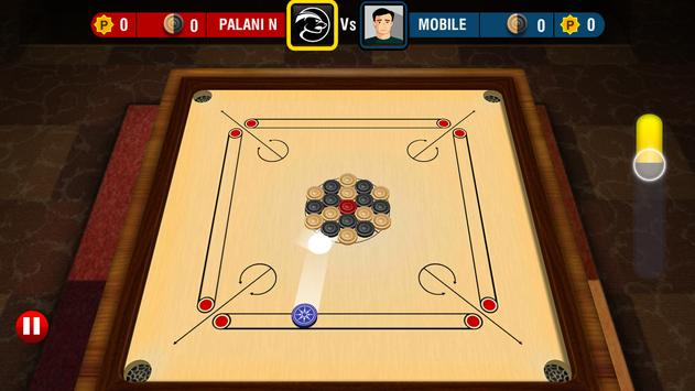 Real Carrom 3D : Multiplayer स्क्रीनशॉट 8