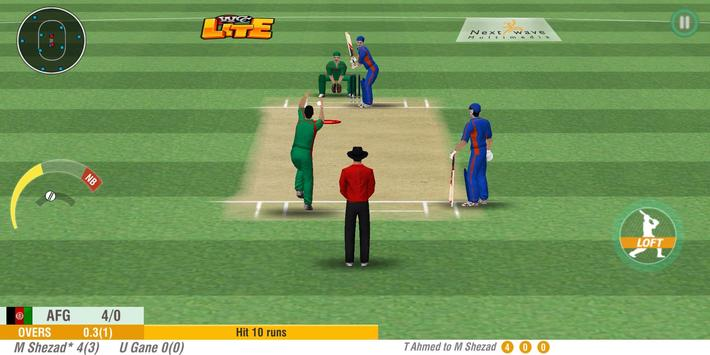 WCC LITE - Heavy on Cricket, Light on Size! screenshot 5