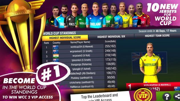 World Cricket Championship 2 screenshot 2
