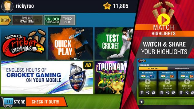World Cricket Championship 2 screenshot 21