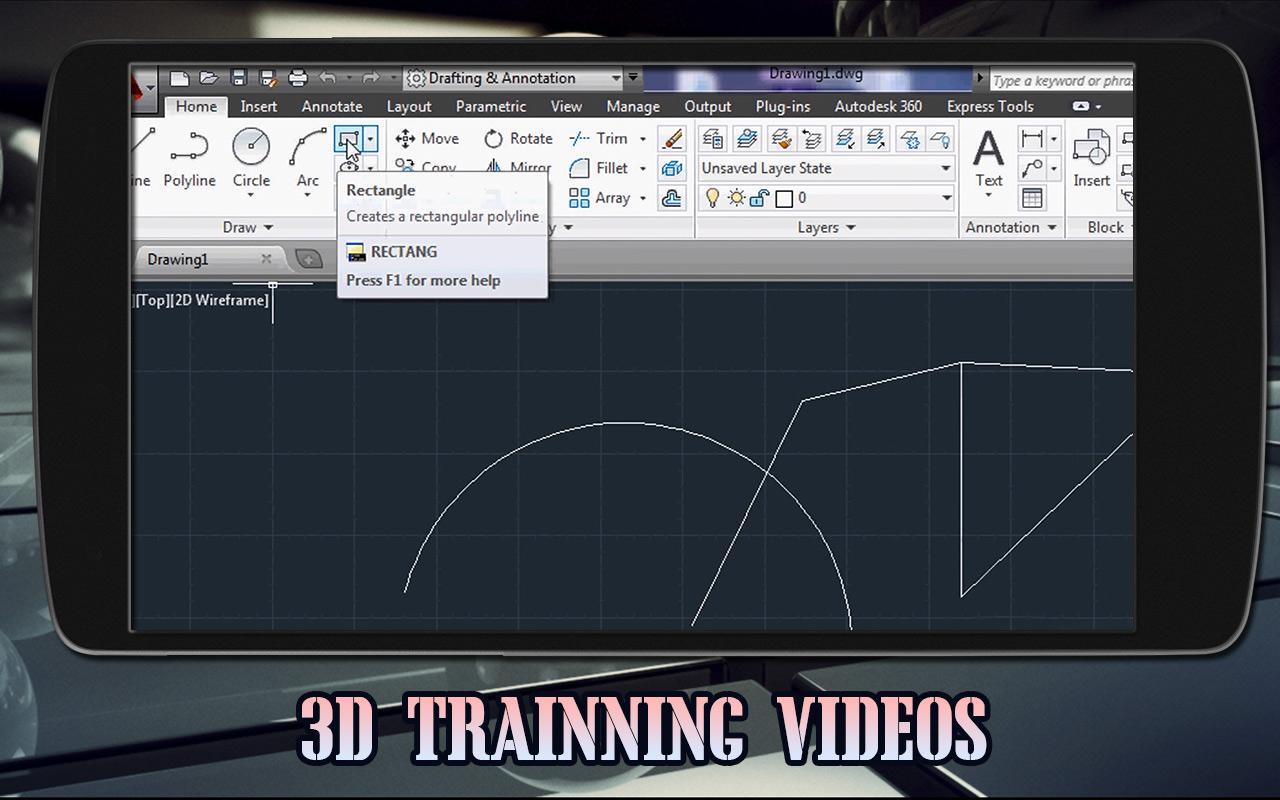 Learn AutoCad - Free Video Lectures - 2019 for Android - APK
