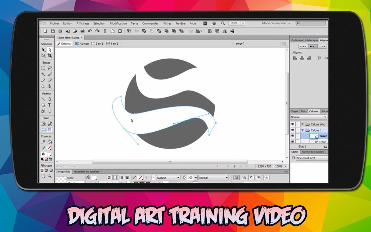Learn Corel Draw - Free Video Lectures - 2019 cho Android - Tải về APK