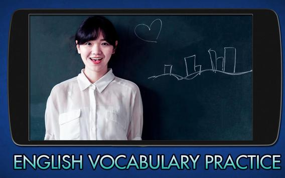 Learn English Vocabulary poster