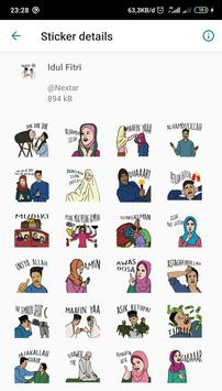 THR Lebaran - WAStickerApps screenshot 7