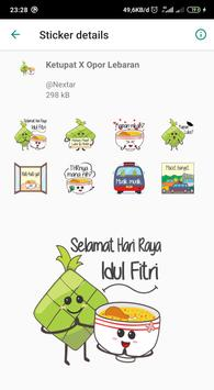 THR Lebaran - WAStickerApps screenshot 4
