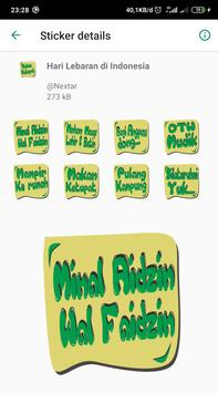 THR Lebaran - WAStickerApps screenshot 5