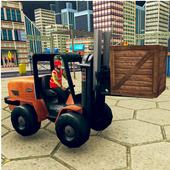 US Forklift Simulator: Cargo Truck Transport Game icon