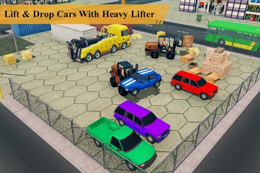 US Forklift Simulator: Cargo Truck Transport Game screenshot 5
