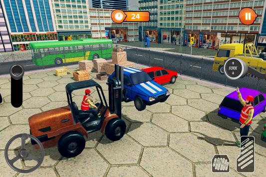 US Forklift Simulator: Cargo Truck Transport Game poster