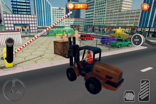 US Forklift Simulator: Cargo Truck Transport Game screenshot 1