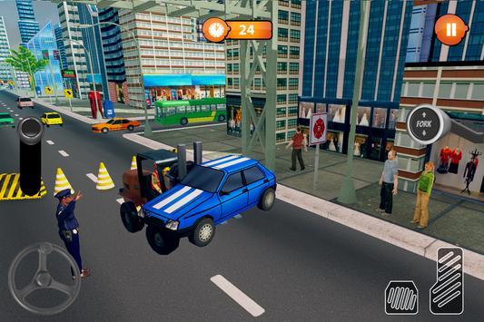 US Forklift Simulator: Cargo Truck Transport Game screenshot 2