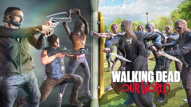 The Walking Dead: Our World الملصق