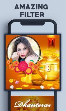 Dhanteras Photo Frame poster