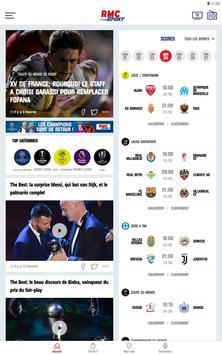 RMC Sport News capture d'écran 8