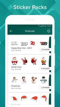 WhatsUp Stickers screenshot 1