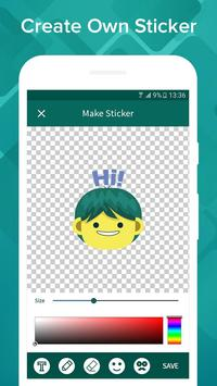 WhatsUp Stickers screenshot 4