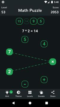 Math Puzzle capture d'écran 3