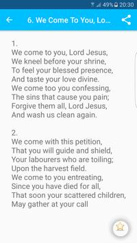 Catholic Hymns screenshot 11